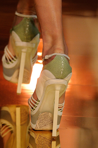 john galliano shoes. John Galliano: it#39;s all about