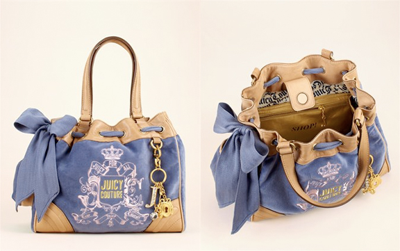 juicy couture, juicy couture bags, designer bags, label bags, juice couture tracksuit