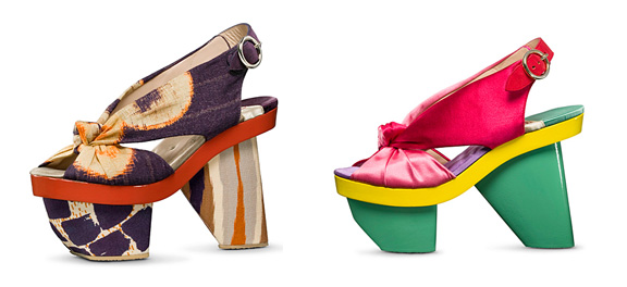 Love: Kenzo Spring Summer 2011 Shoes | Searching for Style