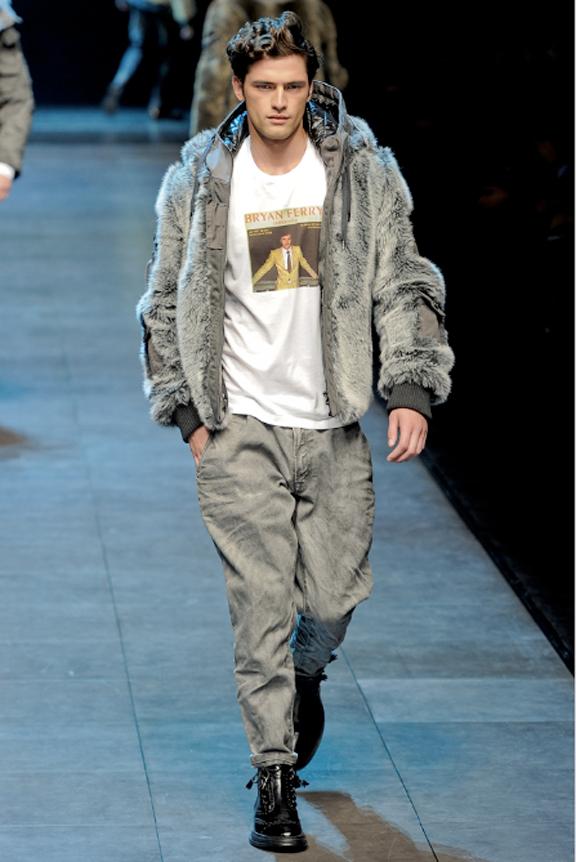 Dolce & Gabbana, menswear, Dolce & Gabbana menswear, autumn winter 2011, fall 2011, menswear catwalks, fashion shows, New Kids on the Block