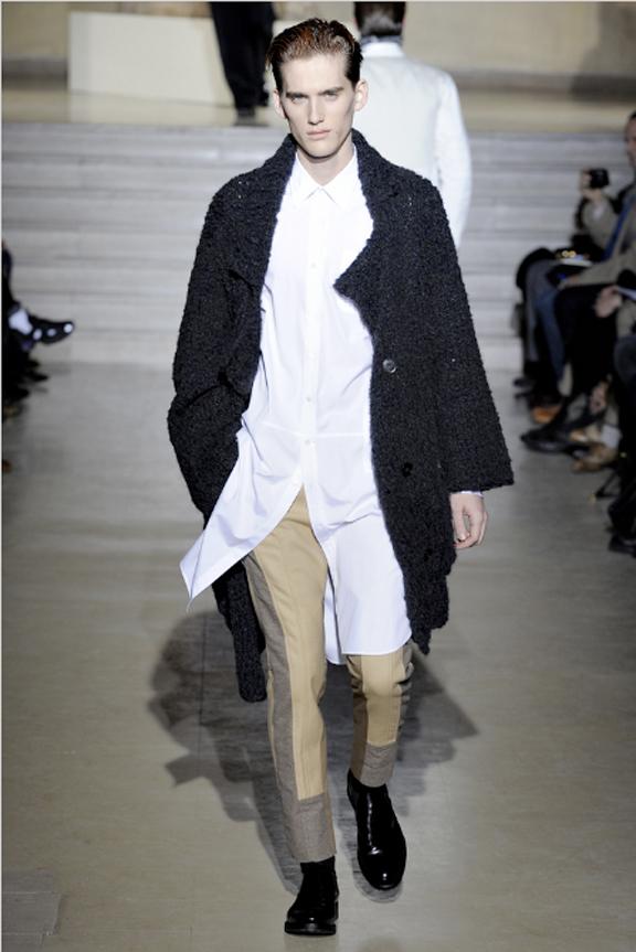 Dries Van Noten, menswear, autumn winter 2011, fall 2011, menswear catwalks, fashion shows, men's suits, shirts