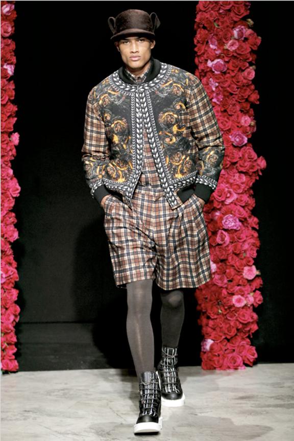Givenchy, board shorts, menswear, autumn winter 2011, fall 2011, menswear catwalks, fashion shows
