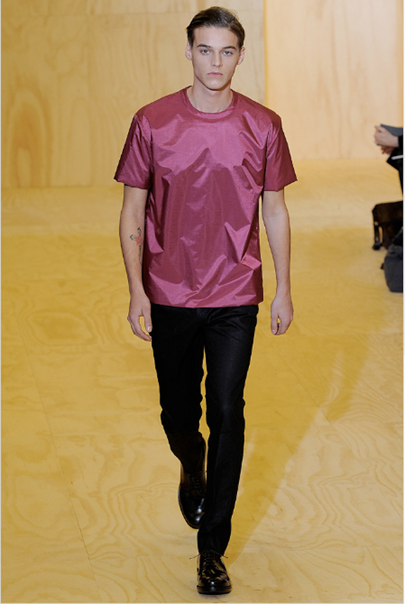 Jil Sander, menswear, Jil Sander menswear, autumn winter 2011, fall 2011, menswear catwalks, fashion shows, Raf Simons