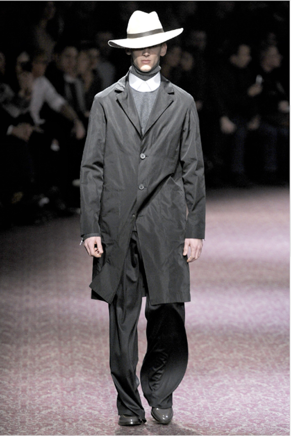 Lanvin, Alber Elbaz, menswear, autumn winter 2011, fall 2011, menswear catwalks, fashion shows, hats