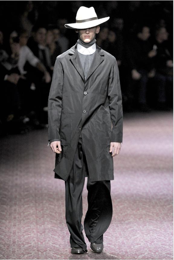 Lanvin, Alber Elbaz, menswear, autumn winter 2011, fall 2011, menswear catwalks, fashion shows, hats