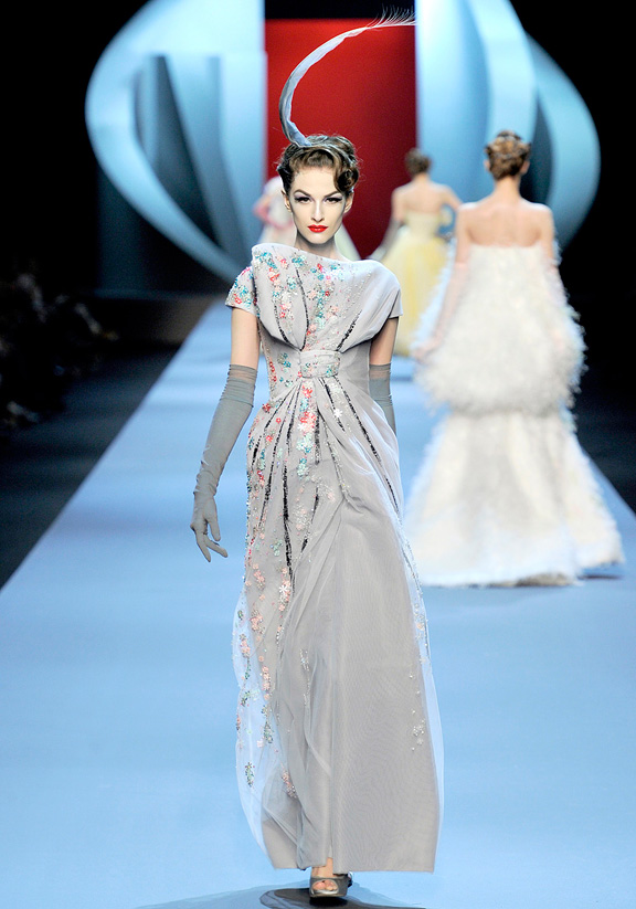 Christian Dior, haute couture, Paris, John Galliano, evening wear, wedding gowns, dresses, spring summer 2011