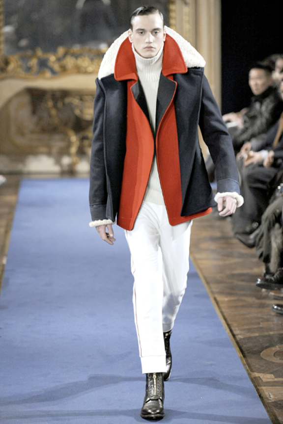 Alexander McQueen, menswear, autumn winter 2011, fall 2011, menswear catwalks, fashion shows, Sarah Burton, wool coats