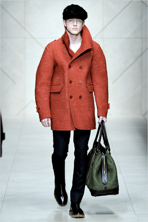 Burberry Prorsum, menswear, Burberry menswear, autumn winter 2011, fall 2011, menswear catwalks, fashion shows
