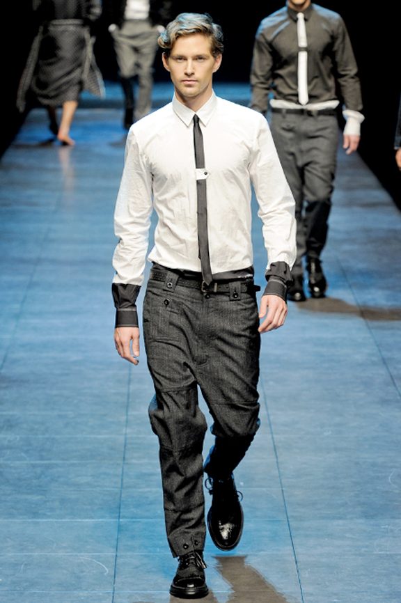 Dolce & Gabbana, menswear, Dolce & Gabbana menswear, autumn winter 2011, fall 2011, menswear catwalks, fashion shows
