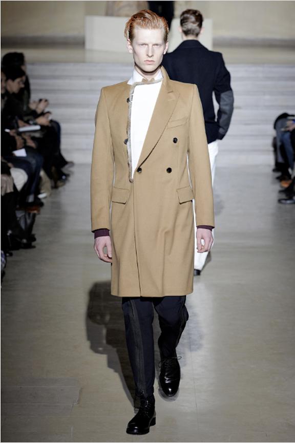 Dries Van Noten, menswear, autumn winter 2011, fall 2011, menswear catwalks, fashion shows, men's suits, coats, fur