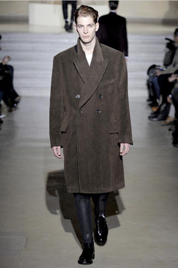 Dries Van Noten, menswear, autumn winter 2011, fall 2011, menswear catwalks, fashion shows, men's suits, coats