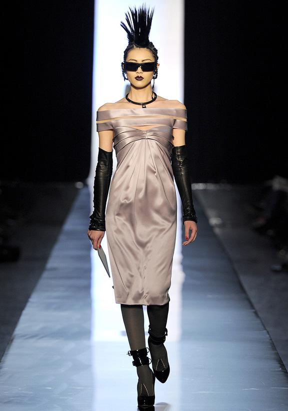 Jean Paul Gaultier, burlesque, Haute Couture, luxury, evening gowns, bridal, Paris, fashion shows, catwalk