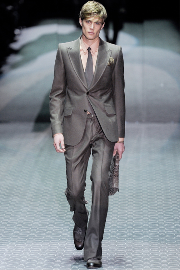 Gucci, menswear, autumn winter 2011, fall 2011, menswear catwalks, fashion shows , men's suits, tailoring