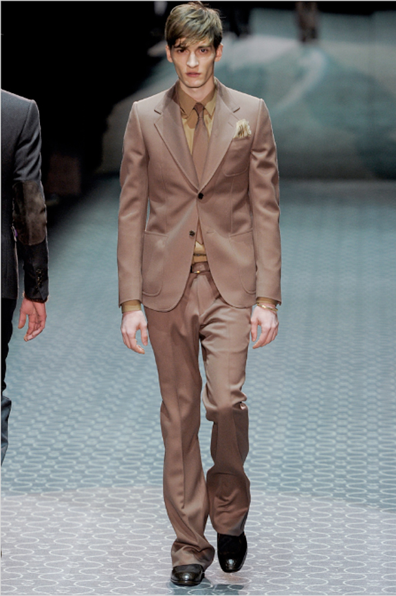 Gucci, menswear, autumn winter 2011, fall 2011, menswear catwalks, fashion shows, tailoring, suiting