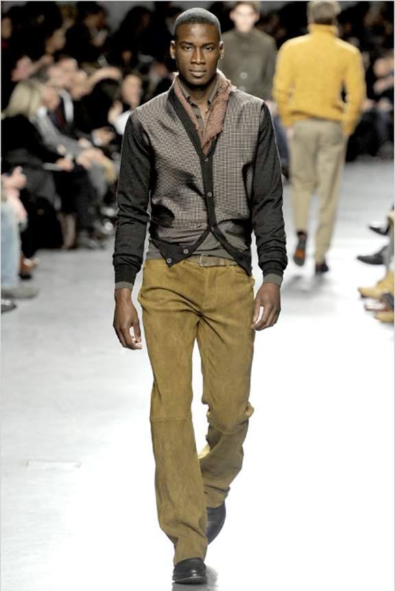 Hermes, menswear, autumn winter 2011, fall 2011, menswear catwalks, fashion shows, leather, mens suits