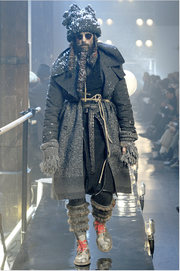 John Galliano, menswear, autumn winter 2011, fall 2011, menswear catwalks, fashion shows, coats