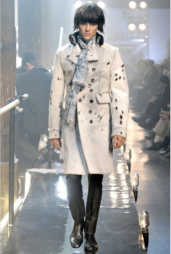 John Galliano, menswear, a