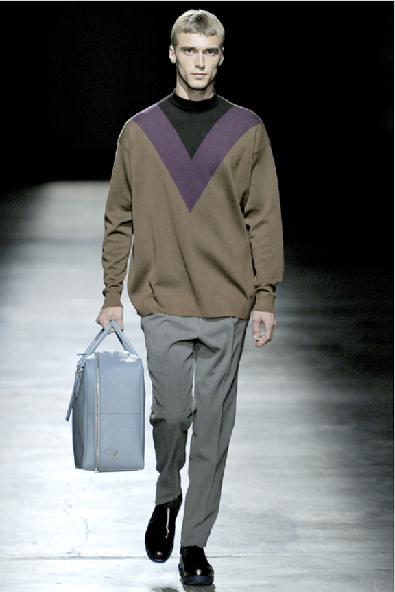 Prada, menswear, autumn winter 2011, fall 2011, menswear catwalks, fashion shows, Star Trek