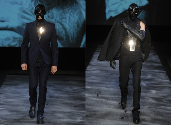 Thierry Mugler, Nicola Formichetti, Lady Gaga, menswear, autumn winter 2011, fall 2011, menswear catwalks, fashion shows
