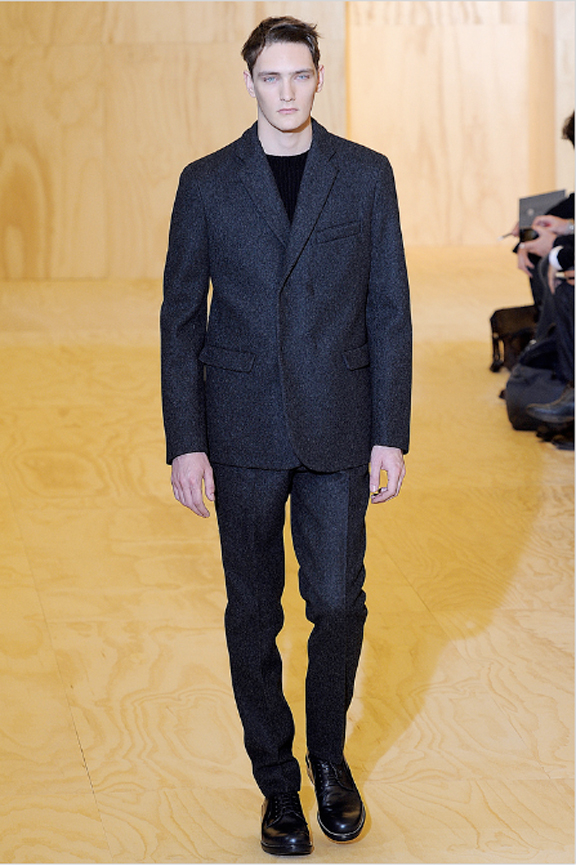 Jil Sander, menswear, Jil Sander menswear, autumn winter 2011, fall 2011, menswear catwalks, fashion shows, Raf Simons, minimalist menswear