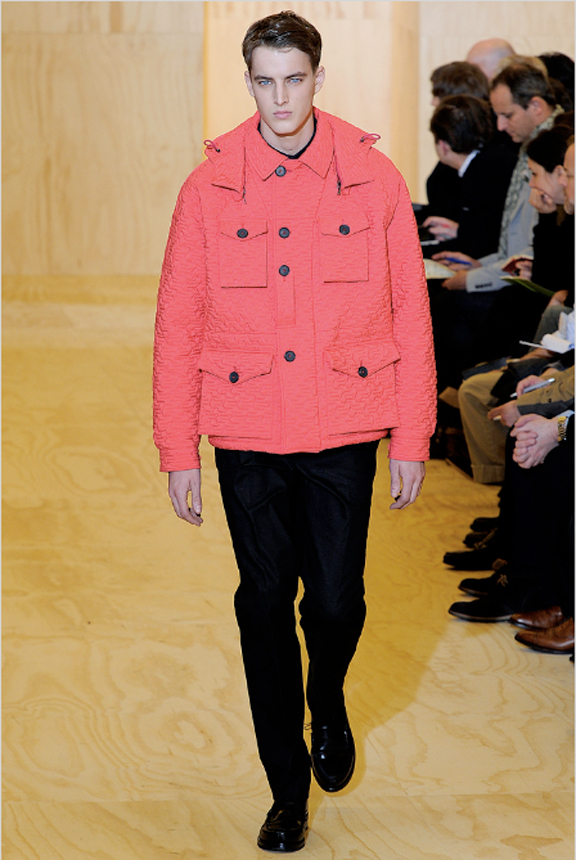 Jil Sander, menswear, Jil Sander menswear, autumn winter 2011, fall 2011, menswear catwalks, fashion shows, Raf Simons, parkas