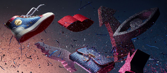 Christian Louboutin, designer shoes, luxury footwear, advertising campaigns, high heels, fashion photography, Khuong Nguyen