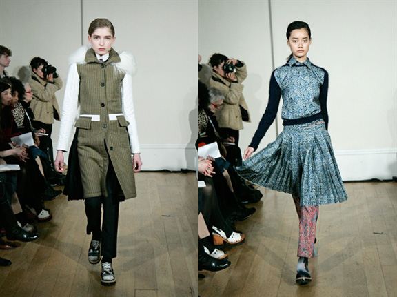 JW Anderson, London Fashion Week, womenswear, Autumn Winter 2011