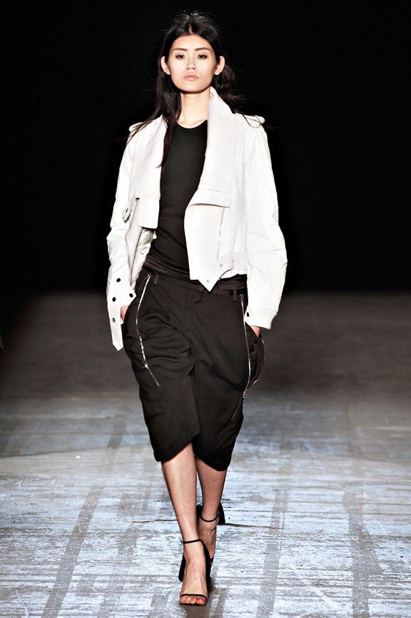 Alexander Wang, tuxedos, street wear, New York Fashion Week, womenswear, autumn winter 2011, sweater dresses