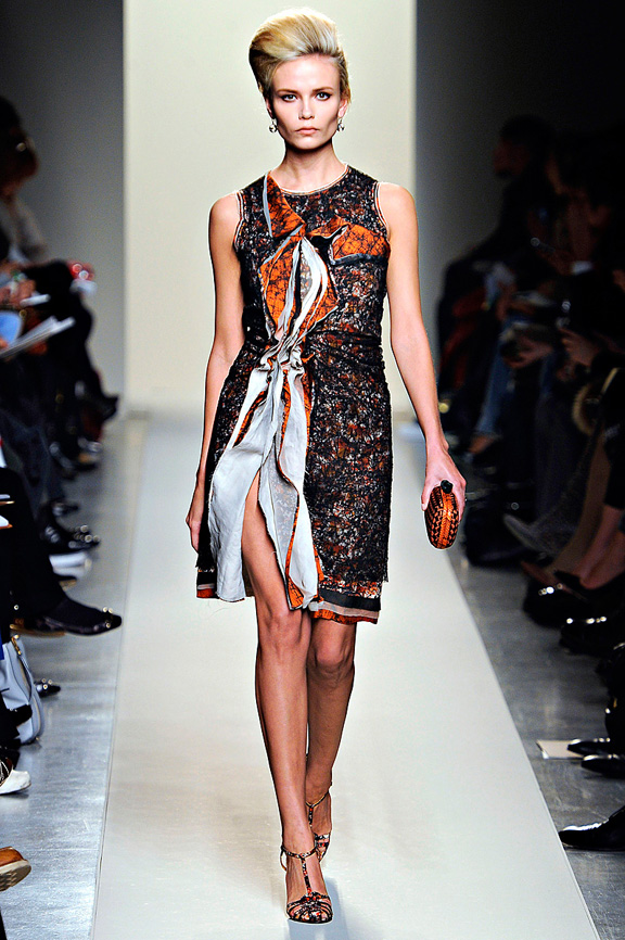 Bottega Veneta, Tomas Maier, womenswear, Milan fashion week, autumn winter 2011