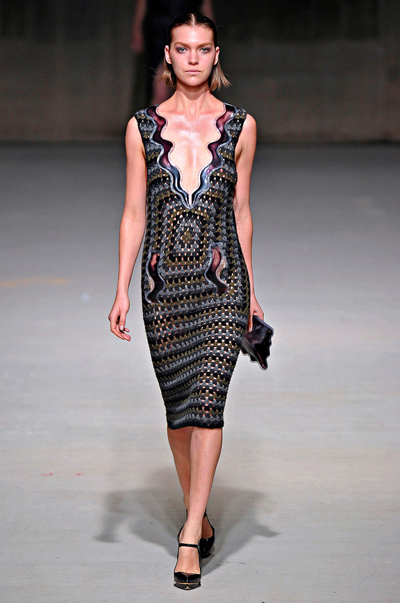 Christopher Kane, womenswear, London fashion week, autumn winter 2011