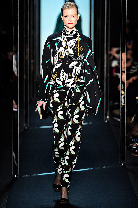Diane Von Furstenberg, New York Fashion Week, womenswear, autumn winter 2011