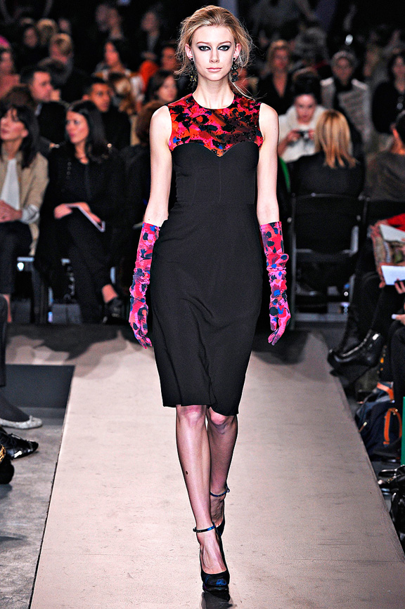 Erdem, digital prints, womenswear, London fashion week, autumn winter 2011