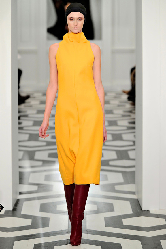 Victoria Beckham, New York Fashion Week, womenswear, autumn winter 2011, celebrity fashion