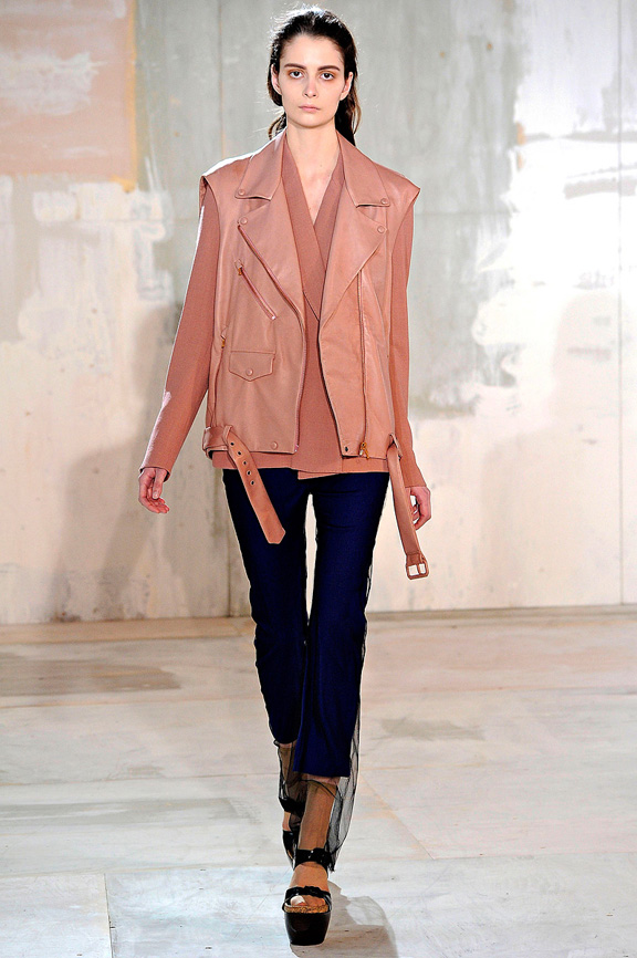 Acne, Swedish fashion, biker jackets, womenswear, London fashion week, autumn winter 2011
