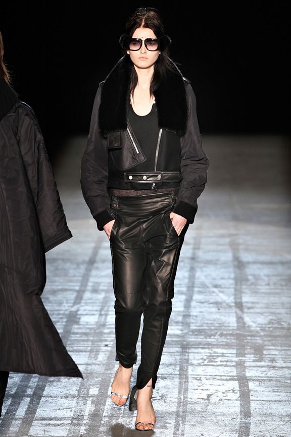 Alexander Wang, tuxedos, street wear, New York Fashion Week, womenswear, autumn winter 2011