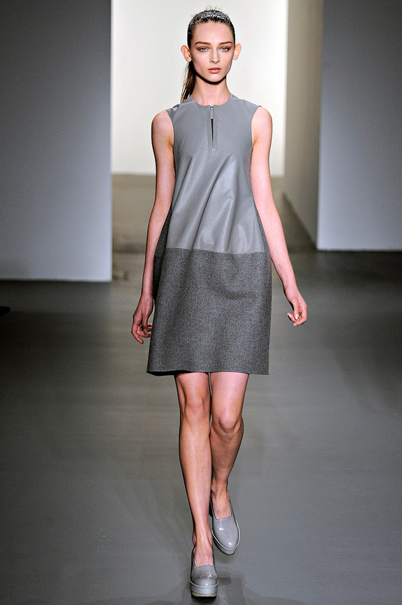 Calvin Klein, minimalism, womenswear, New York fashion week, autumn winter 2011