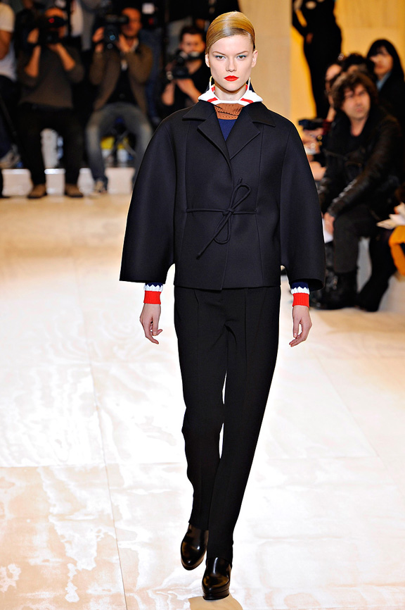 Jil Sander, Raf Simons, womenswear, Milan fashion week, autumn winter 2011