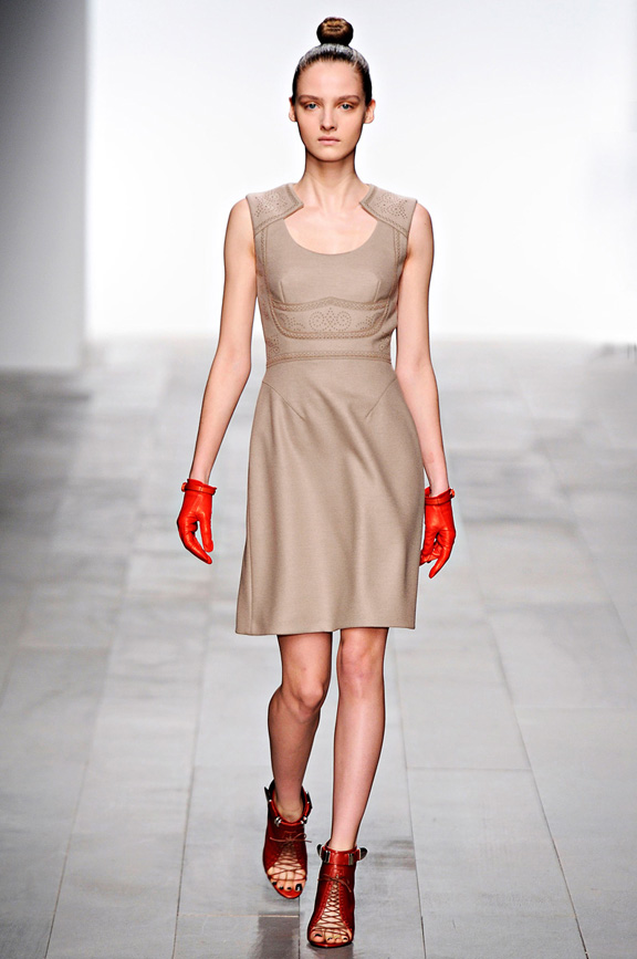 Marios Schwab, womenswear, London fashion week, autumn winter 2011