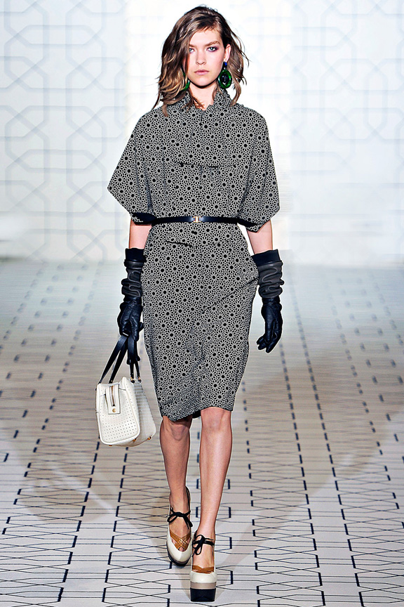 Marni, womenswear, Milan fashion week, autumn winter 2011