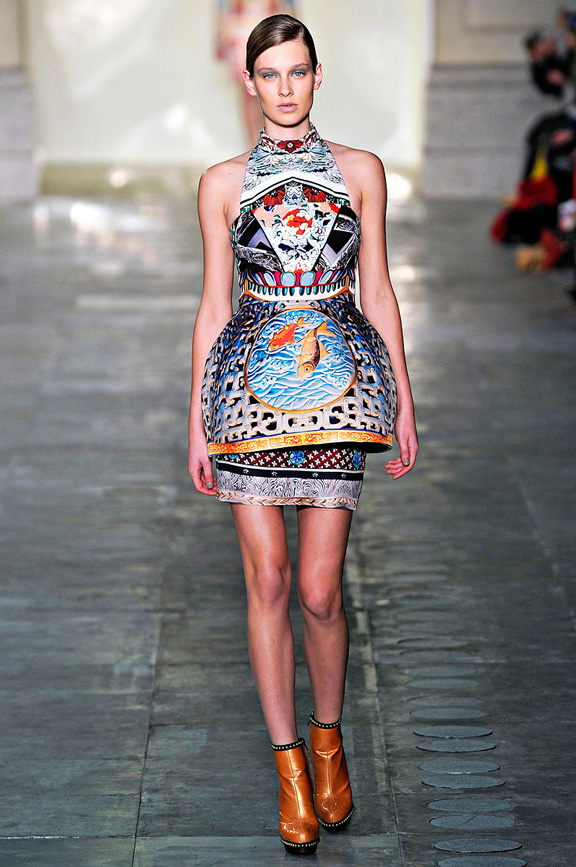 Mary Katrantzou, prints, womenswear, London fashion week, autumn winter 2011