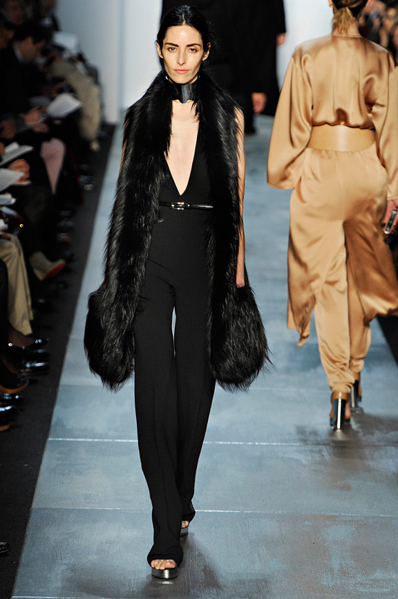 Michael Kors, New York Fashion Week, womenswear, autumn winter 2011, fur, anniversary