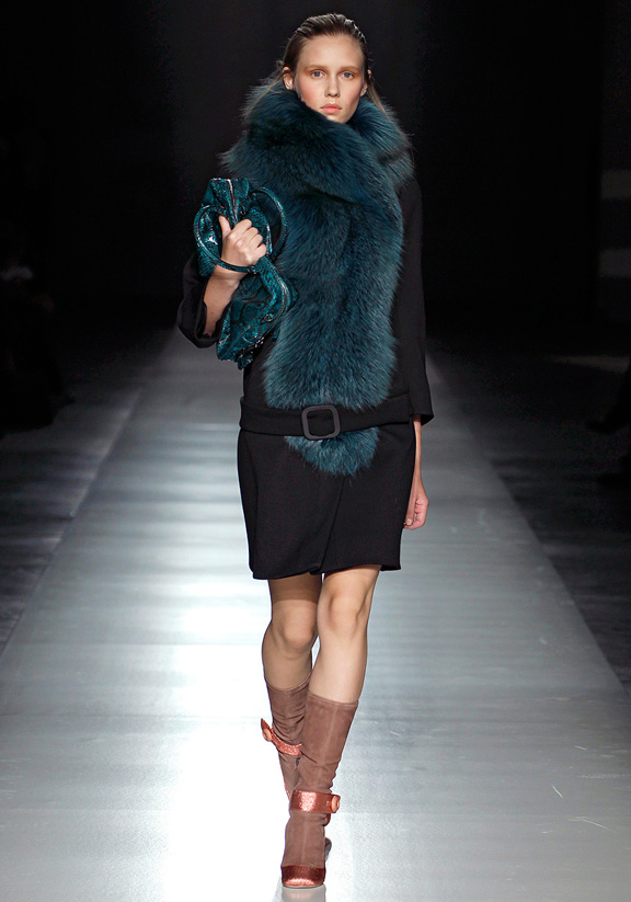 Prada, outerwear, fur, evening wear, womenswear, Milan fashion week, autumn winter 2011