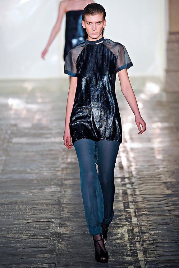 Richard Nicoll, womenswear, London fashion week, autumn winter 2011