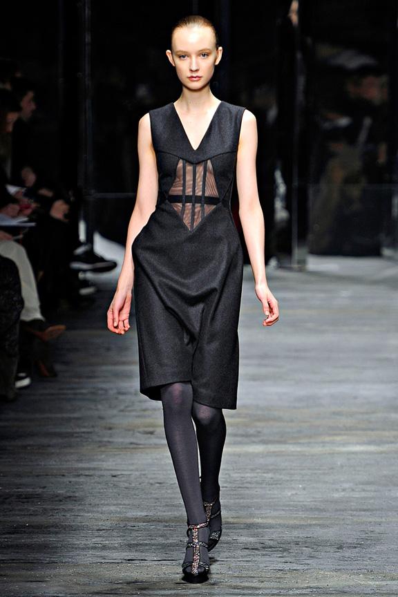 Versus, Versace, Christopher Kane, Donatella Versace, womenswear, Milan fashion week, autumn winter 2011