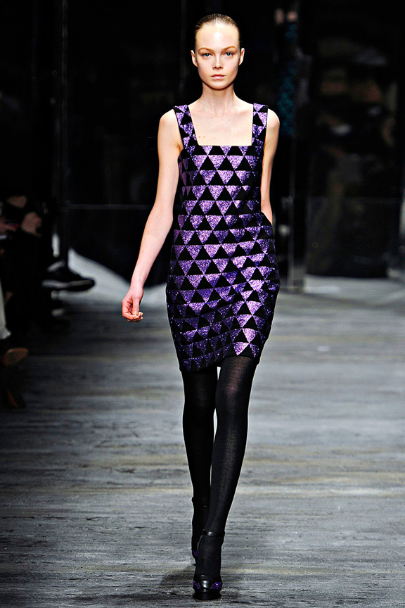 Versus, Versace, Christopher Kane, Donatella Versace, womenswear, Milan fashion week, autumn winter 2011