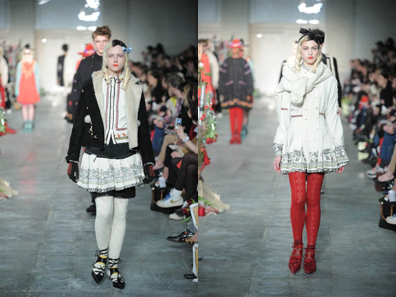 Meadham Kirchoff, London Fashion Week, Autumn Winter 2011