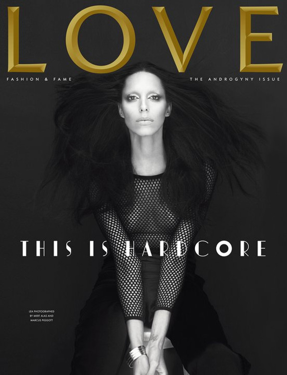 LOVE magazine, Lea T, transvestite, Mert & Marcus, fashion magazines, supermodels, fashion photography, Katie Grand, Conde Nast