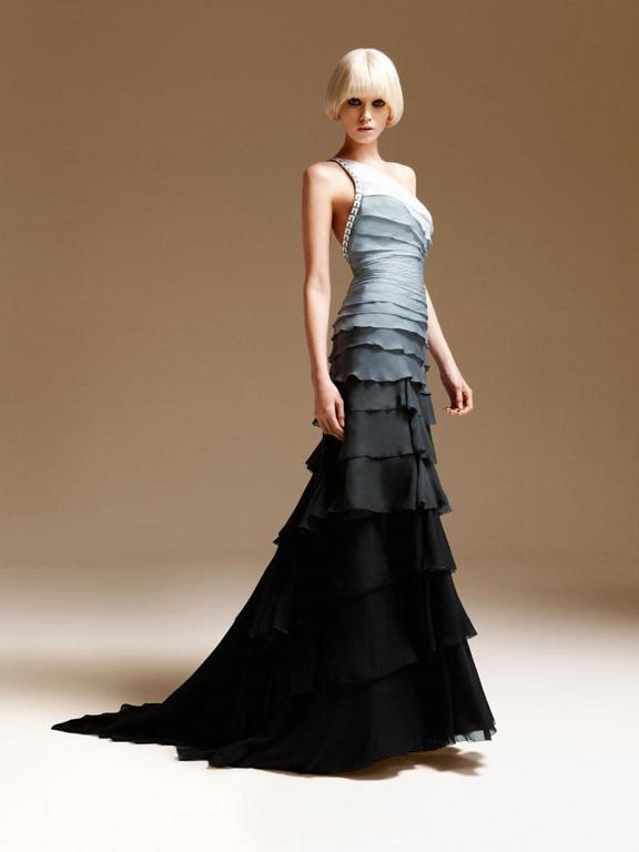 Atelier Versace, haute couture, evening wear, designer clothing, womenswear, spring summer 2011