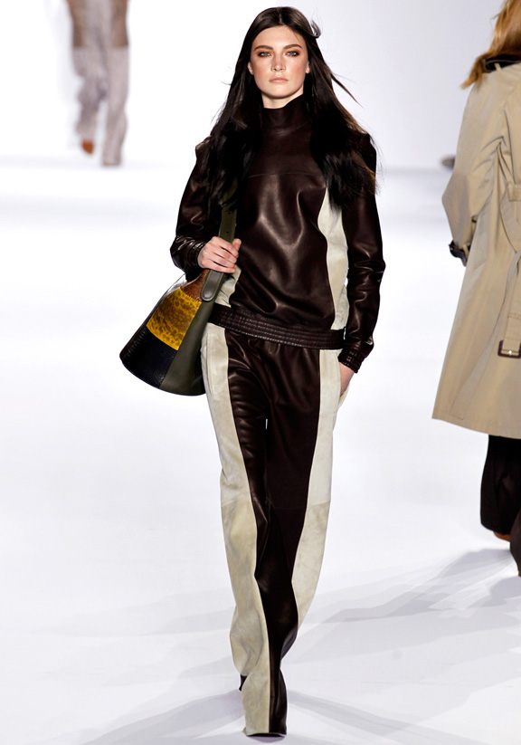 Chloe, Hannah MacGibbon, autumn winter 2011, Paris fashion week, womenswear