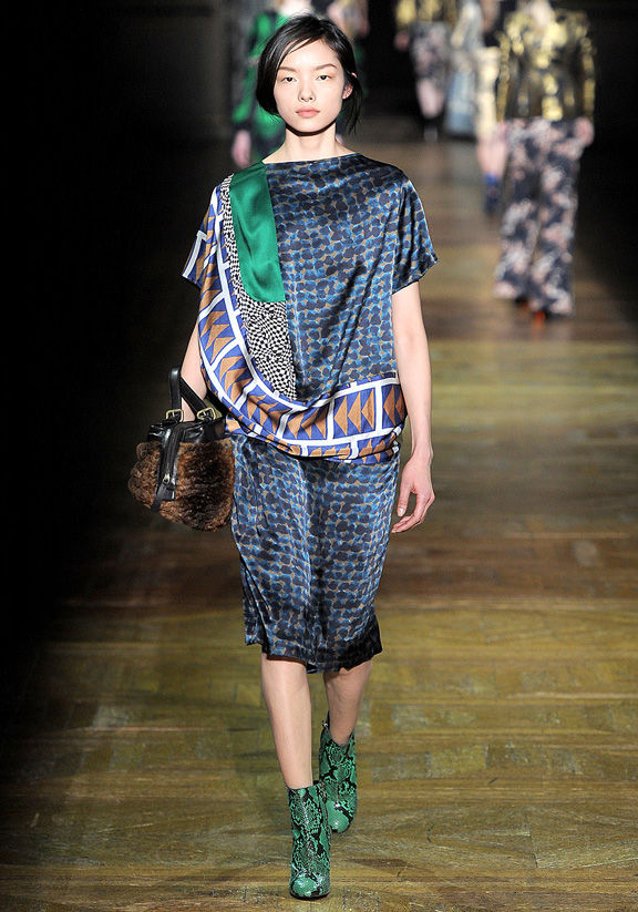 Dries Van Noten, autumn winter 2011, Paris fashion week, womenswear